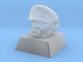 Cherry MX Mario Keycap in Smooth Fine Detail Plastic