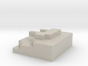 Test 1.wrl in Natural Sandstone
