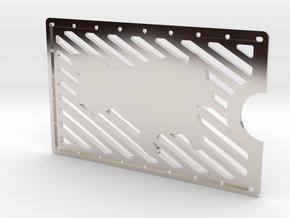 Card Wallet - Cat in Platinum