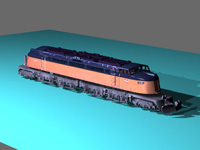 NScale EF4 Little Joe, Milwaukee Road Late in Smooth Fine Detail Plastic