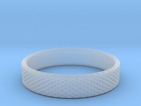 0219 Lissajous Figure Ring (Size11.5, 20.9 mm)#024 in Smoothest Fine Detail Plastic