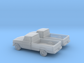 1/160 2X 1966 Chevrolet  C-10 in Frosted Ultra Detail