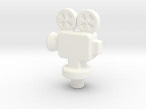 PR Token 2x in White Processed Versatile Plastic