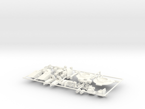 Nautical Femmebot body kit in White Processed Versatile Plastic