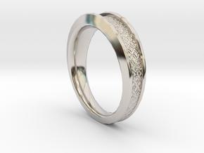 Detailed Ring in Platinum