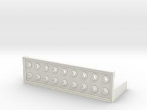 Blinkenlights in White Natural Versatile Plastic