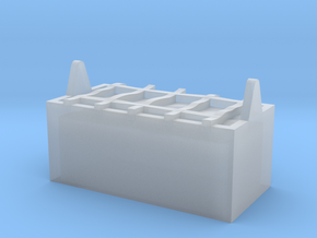 M14-Back Storage in Smooth Fine Detail Plastic