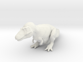Sitting Tyrannosaurus - 1/72 in White Strong & Flexible