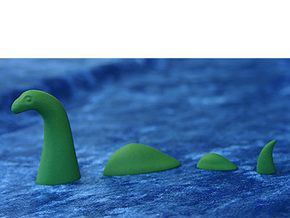 Nessie in Green Strong & Flexible Polished