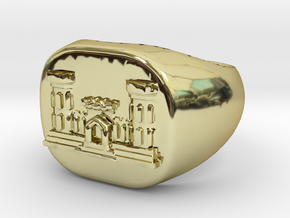 Combat Engineer Army Ring in 18K Gold Plated