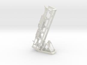 1/18 SPM-18-001 m240 machine gun in White Natural Versatile Plastic