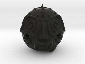 Mocking Idol charm in Black Natural Versatile Plastic