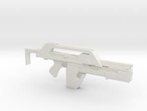 Pulse Rifle 23cm in White Natural Versatile Plastic