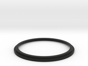 Minolta MD to EOS EF Base  in Black Natural Versatile Plastic