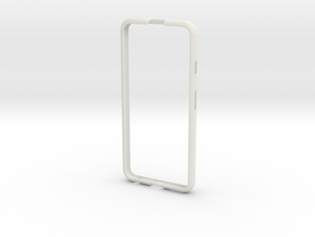 Iphone 6 Protective Bumper Case in White Strong & Flexible