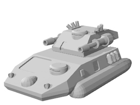 "Hovertank ""Puma"" 6mm Battletech in White Natural Versatile Plastic"