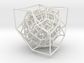 Inversion of Diamond Lattice 2 in White Natural Versatile Plastic