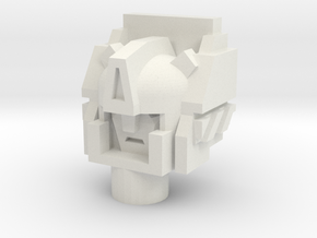 Legendary Architect Head in White Natural Versatile Plastic
