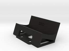GoPro holder for ZMR250 (20 degree) in Black Natural Versatile Plastic
