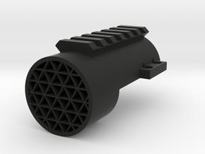 NC-S XRS: RIS Ring & KillFlash in Black Natural Versatile Plastic