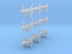 Arm 9 V Fighter in Smooth Fine Detail Plastic