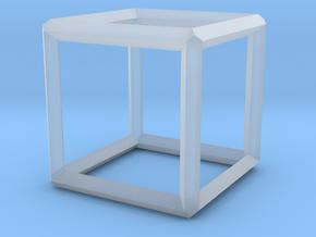 Cube(Leonardo-style model) in Smooth Fine Detail Plastic