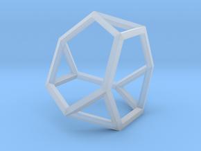 Truncated Tetrahedron(Leonardo-style model) in Smooth Fine Detail Plastic
