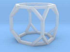 Truncated Cube(Leonardo-style model) in Smooth Fine Detail Plastic