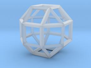 Rhombicuboctahedron(Leonardo-style model) in Smooth Fine Detail Plastic