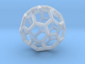 Truncated Icosahedron(Leonardo-style model) in Smooth Fine Detail Plastic