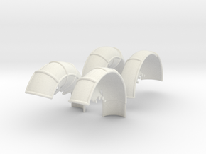 10A-LRV - Fenders in White Natural Versatile Plastic