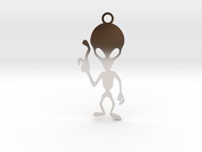 Alien Pendant in Platinum