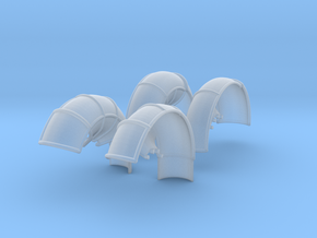 10A-LRV - Fenders in Smoothest Fine Detail Plastic
