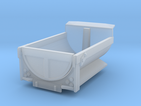 Dump Truck Bed 2 Z Scale in Smooth Fine Detail Plastic