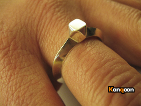 Kurtis - Ring - US 6¾ - 17.12 mm in Polished Silver