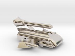 Space Car in Platinum