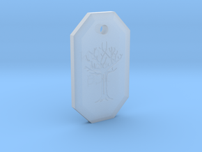 Gared's Pendant in Smooth Fine Detail Plastic