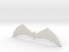 Arkham Birdarang v2 in White Natural Versatile Plastic