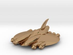 "RetroRocket ""Aquarius in Polished Brass"