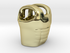 Cuirass in 18k Gold Plated Brass