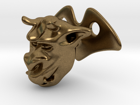 Gargoyle  Drawer Button  in Natural Bronze