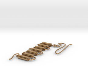 GPCR in Polished Brass