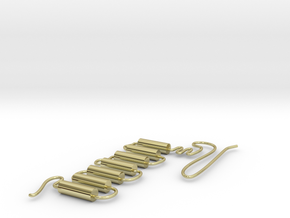 GPCR in 18k Gold Plated Brass