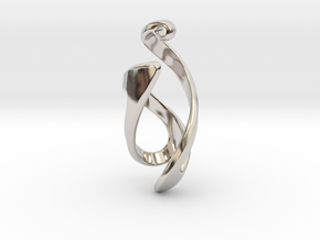 Natural Opposition in Rhodium Plated Brass