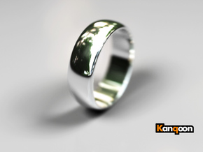 Hugo - Ring in Polished Silver: 9 / 59