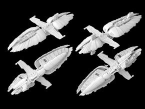 (Armada) Munificent Frigate in White Natural Versatile Plastic