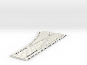 P-45stg-tram-lh-point-200-1a in White Natural Versatile Plastic