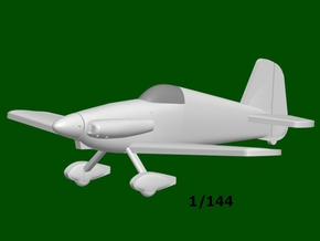 Midget Mustang #67, scale 1/144 in Smooth Fine Detail Plastic