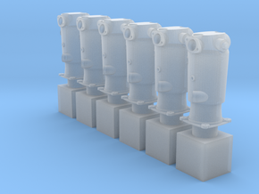 1/32 Mercedes D.III Cylinders (hollow) in Smoothest Fine Detail Plastic