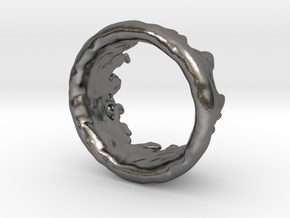 Ring Melting No.9 in Polished Nickel Steel